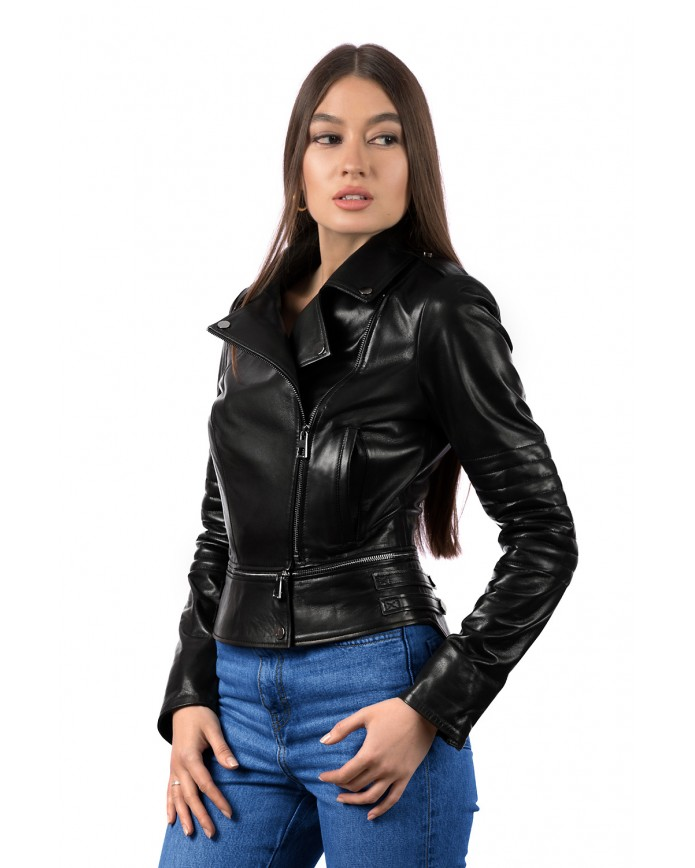 Women's leather jacket  SFR 24 ZIK 093