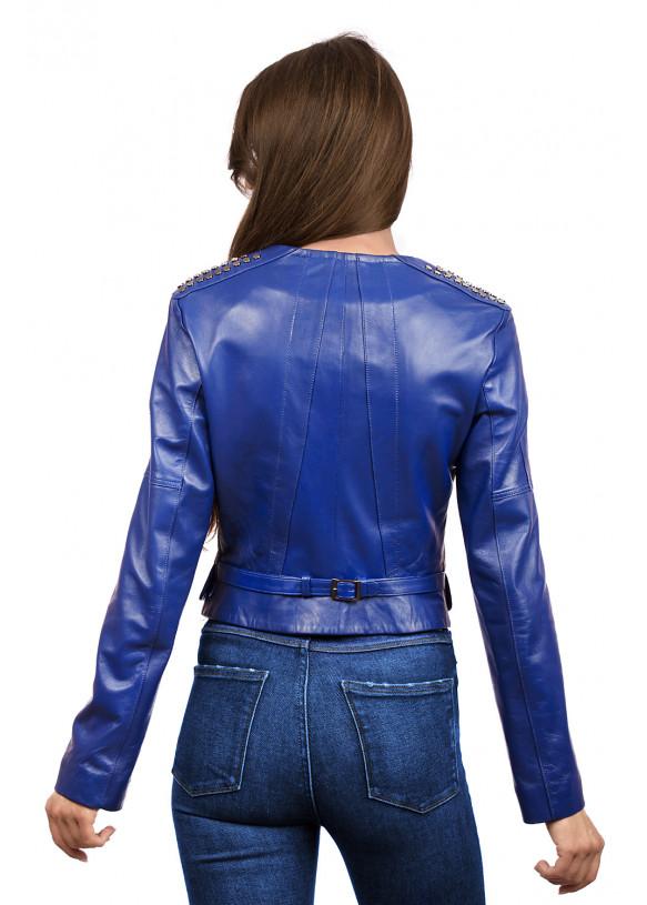Женская кожаная куртка  Z-10 Y110 ZIK 029