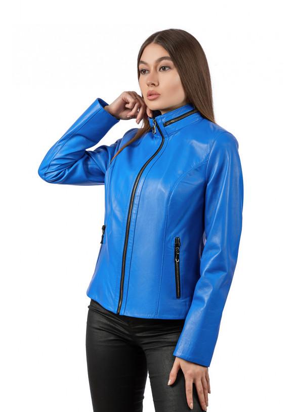 Женская кожаная куртка  540 C12 ZIG 089