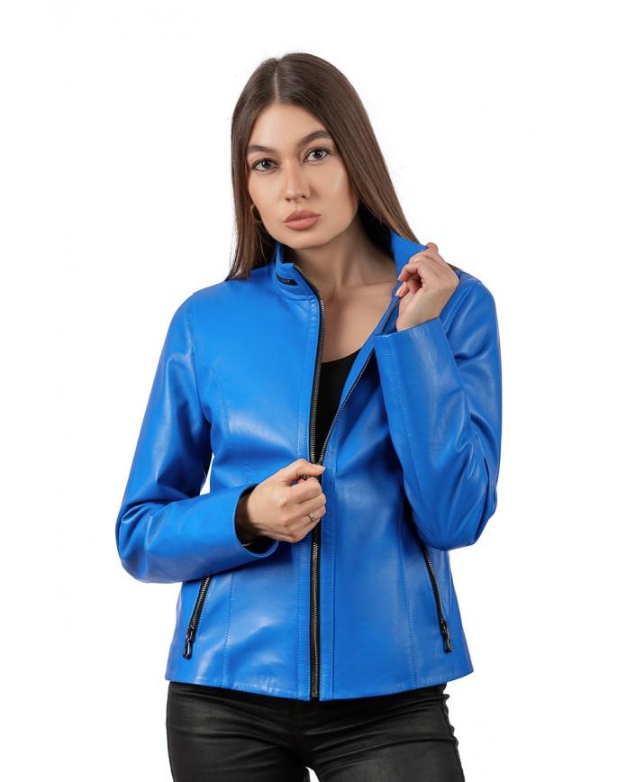 Women's leather jacket    540 C12 ZIG 089 - интернет-магазин Alberta
