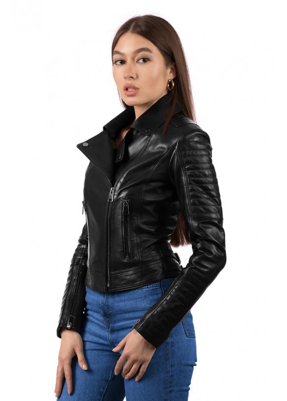 Кожаная куртка NN1101 VEGETAL 093