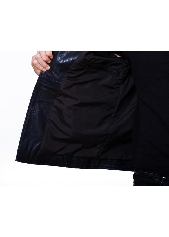 Мужская кожаная куртка косуха 8034 Y100 JUMBO 029