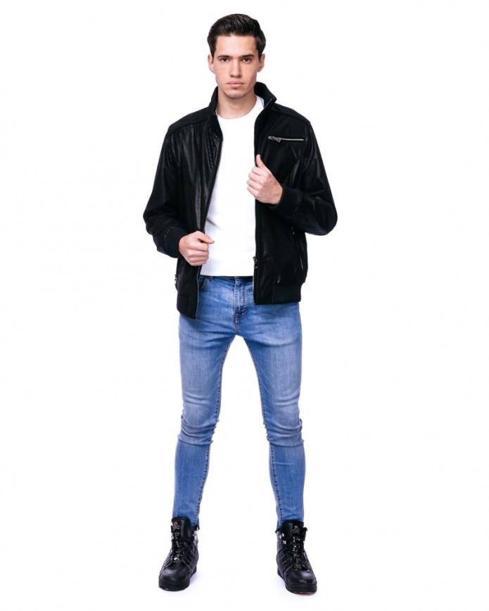 Мужская кожаная куртка VV-30 Y100 PUNTO 062 - интернет-магазин Alberta