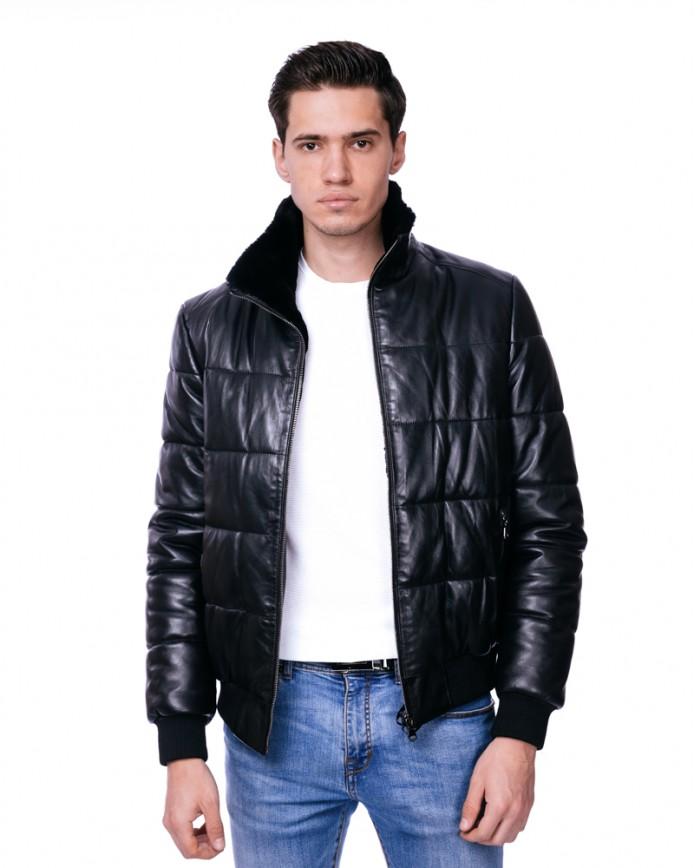 Кожаная куртка VV-17 Y110 ZIK 062 - интернет-магазин Alberta
