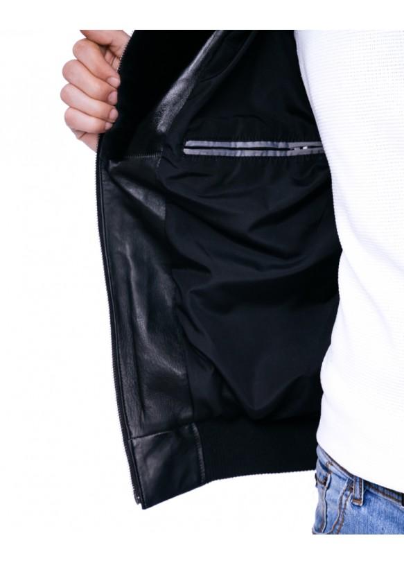 Кожаная куртка VV-17 Y110 ZIK 062