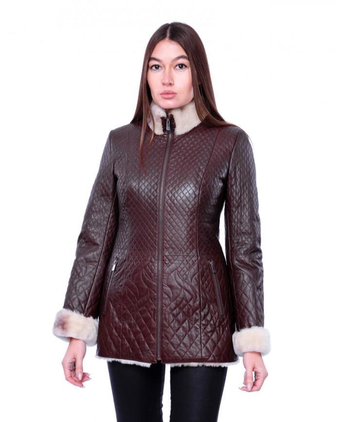 Sheepskin coat 2960 Y80 VEGETAL 082 - интернет-магазин Alberta