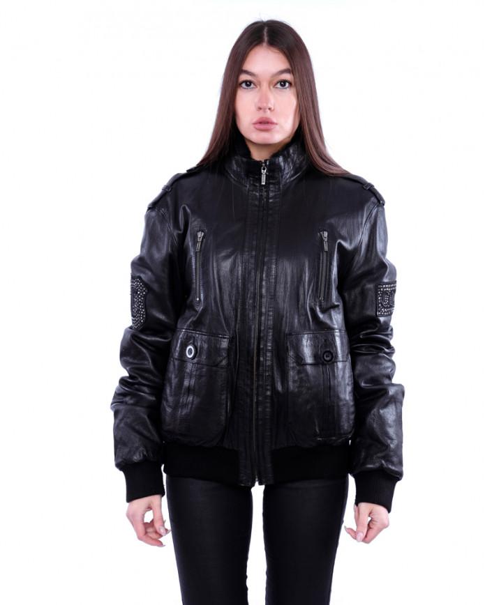 Women's sheepskin coat  8205 Y80 VEGETAL 082 - интернет-магазин Alberta
