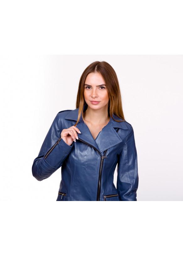 Женская кожаная куртка косуха 0005Ж Y135 ZIK 053