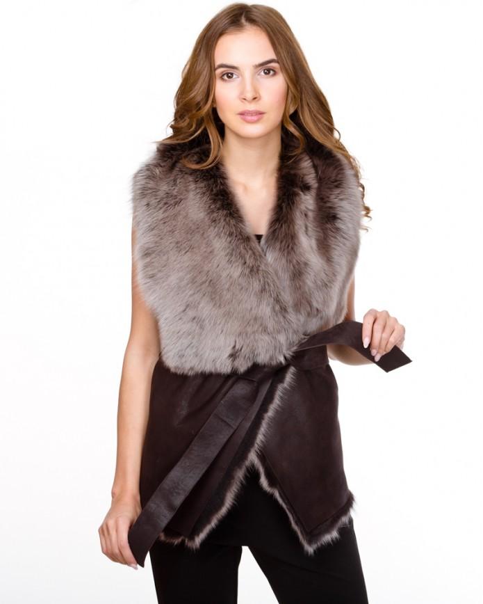 Жіноча жилетка із тоскани 1077 Y70 ICE LAZ 012 - интернет-магазин Alberta