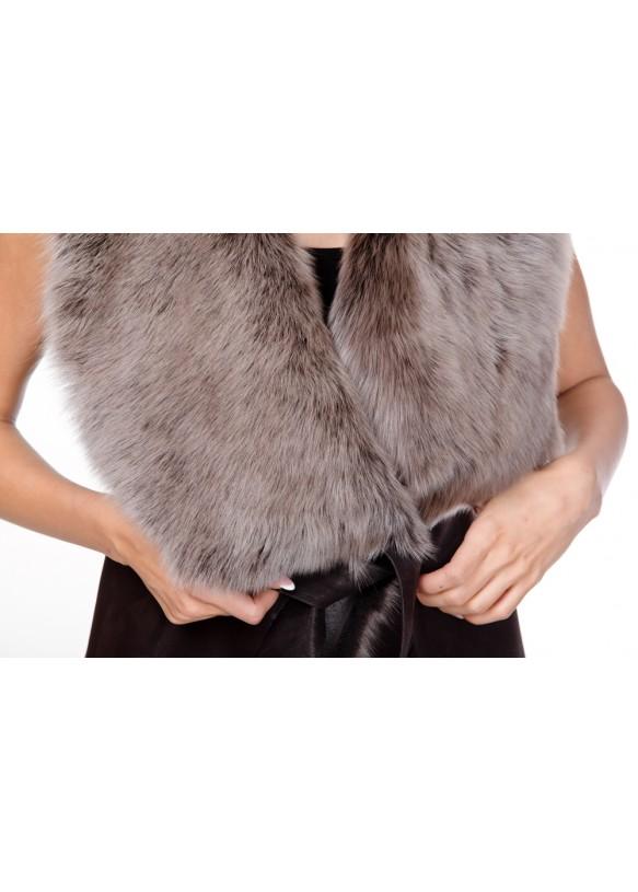 Женская жилетка из тосканы 1077 Y70 ICE LAZ 012