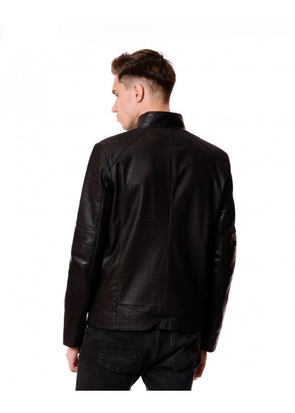 Мужская кожаная куртка 6804 Y105 PUNTO 068