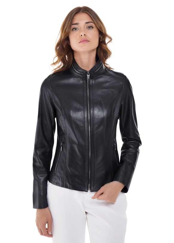 Кожаная куртка  540 C2 ZIG 089