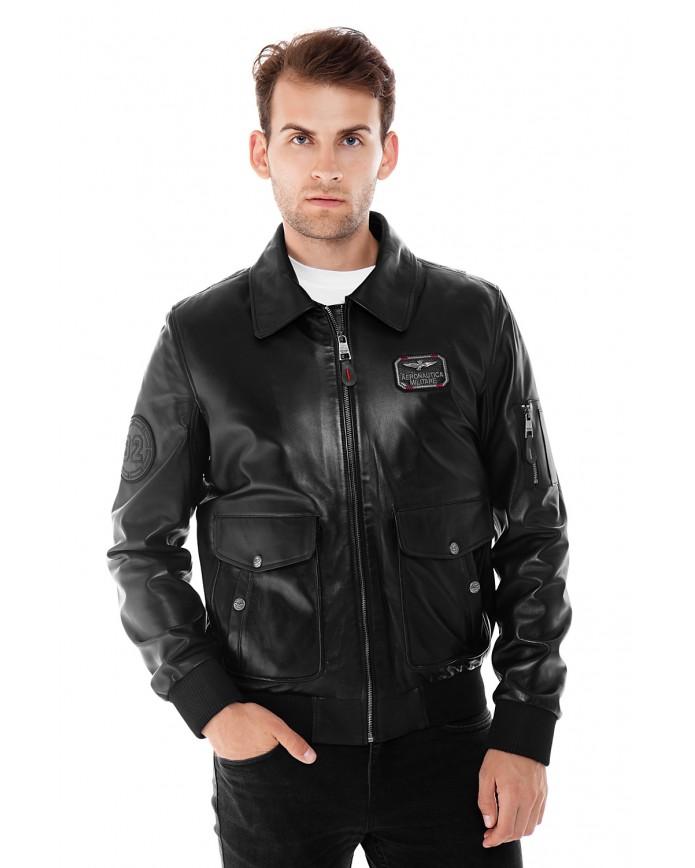 Кожаная куртка 6006 VEGETAL 092