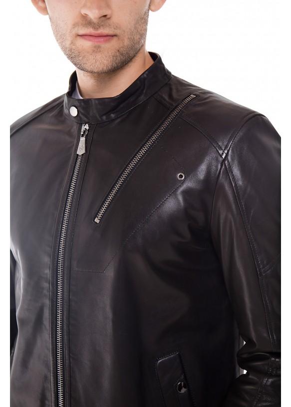 Кожаная куртка ER-4 Y190 VEGETAL 093