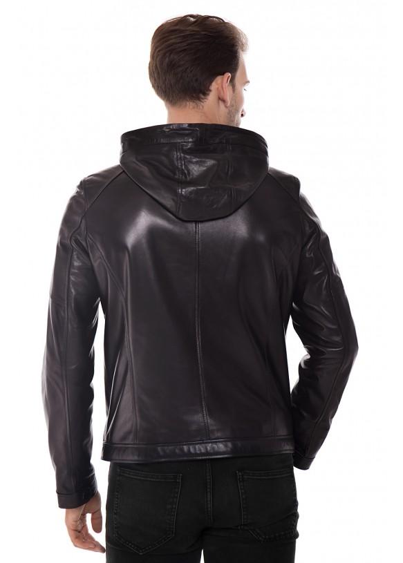 Кожаная куртка    ER-6 Y190 VEGETAL 093