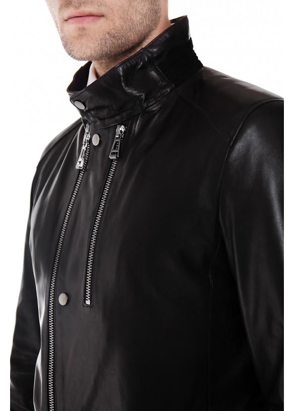 Кожаная куртка ER-1 Y190 VEGETAL 093