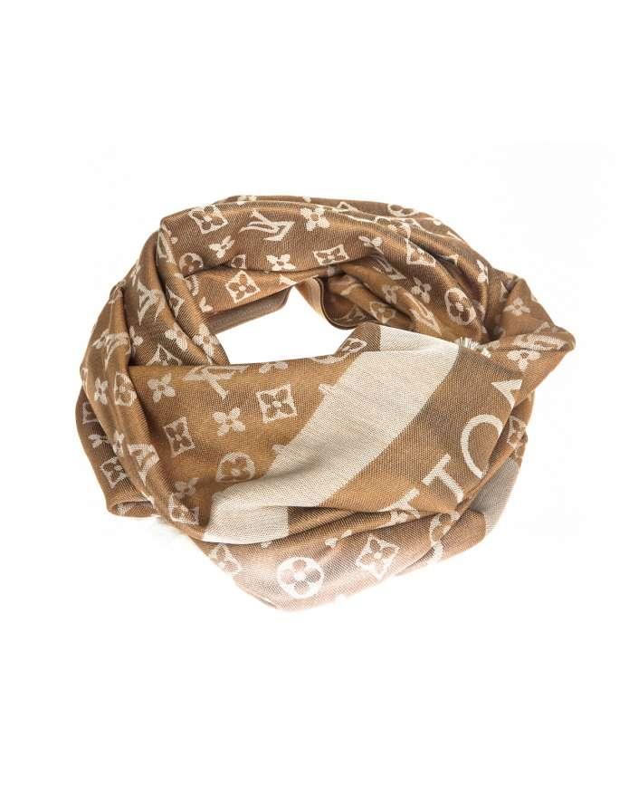 Женский шарф COTTON POL L2V 026 - интернет-магазин Alberta