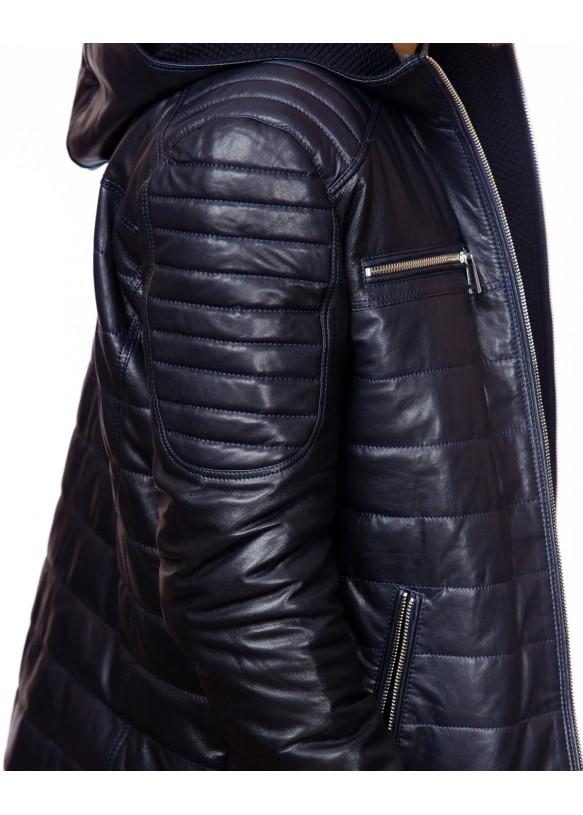 Мужска кожаная куртка 1103 VEGETAL 020