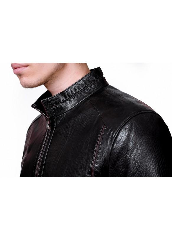 Мужская кожаная куртка F479 Y90 JUMBO 057