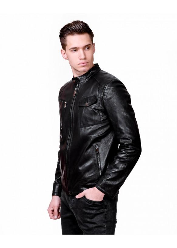 Мужская кожаная куртка EK24 Y110 JUMBO 057