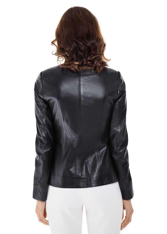 Женская кожаная куртка 86/0921 ZIG 112