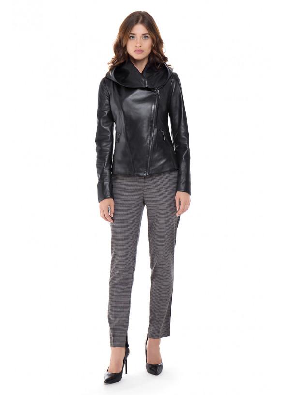 Кожаная куртка Trans-422 VEGETAL 086