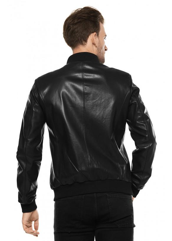 Кожаная куртка   NCOLLEGE VEGETAL 097