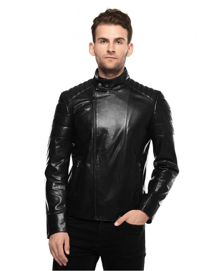 Кожаная куртка N1986 VEGETAL 086 - интернет-магазин Alberta
