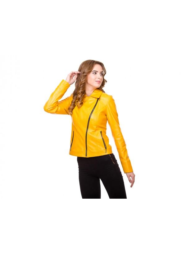 Кожаная куртка 0284 Y110 ZIG 038