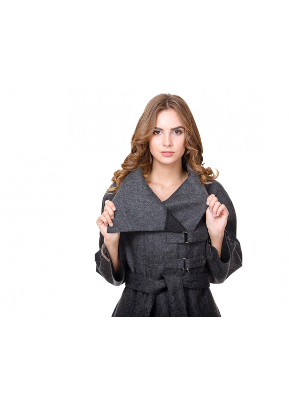 Женское пальто из альпаки 15194 Y80 ALPAKA 031