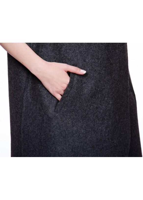 Женское манто из альпаки 15197 Y110 ALPAKA 031